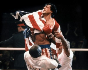 Sylvester Stallone in Rocky IV, an example of the Hero's Journey