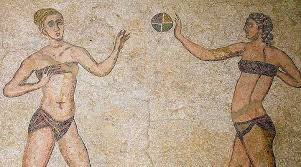 women athletes from Roman