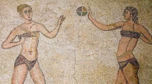 women athletes from Roman