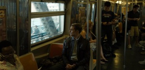 steve rogers on the subway in avengers deleted scene