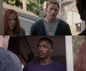 steve sam and natasha form a team in the winter soldier