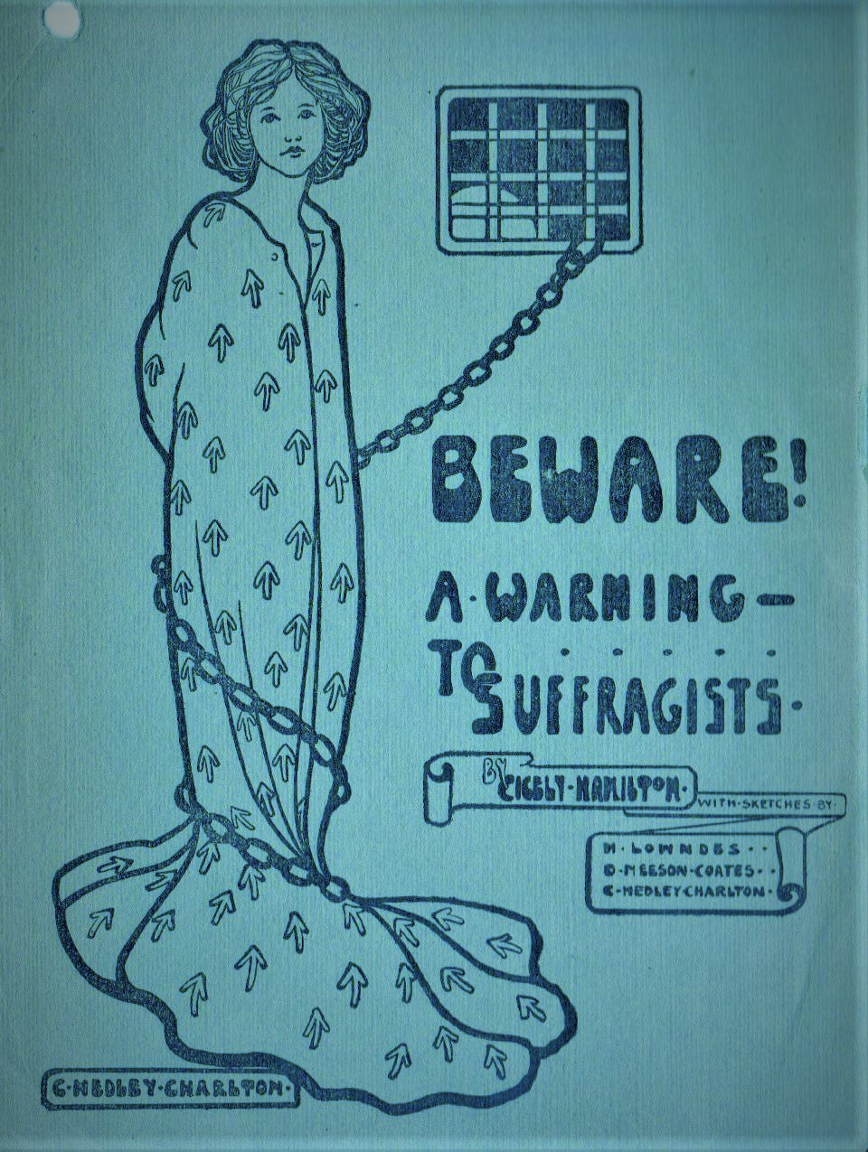 Suffragist Warning Advertisement