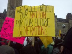 We will Protect our Nation for our Future Generations